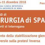 IV Corso di Chirurgia di Spalla – 14-15 Dicembre 2018